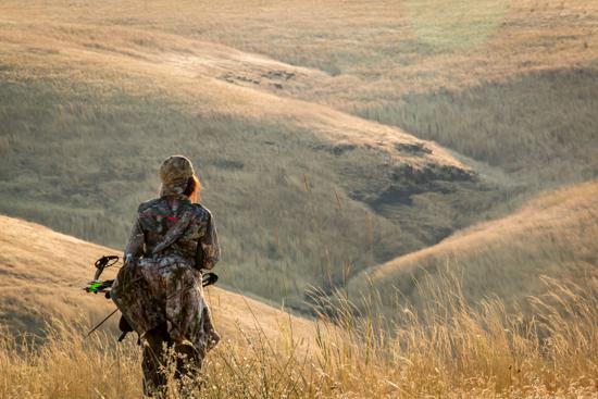 Bow hunting on ZMI Ranch