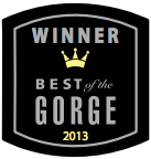 Best of the Gorge award